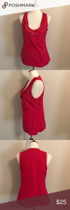 Express Sleeveless Blouse Express Tank Top With side zip. Size M Express Tops Blouses