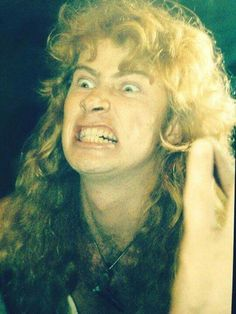 Dave Mustaine - you are cute dude! ;)