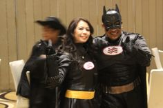 Our Director of Finance and Business Supoort  Ms. Rina as Batgirl and EAM, MR David as Batman #LifeAtIHG