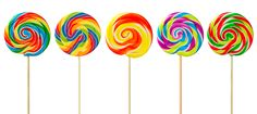 #ColourfulCandies - Lollypops.