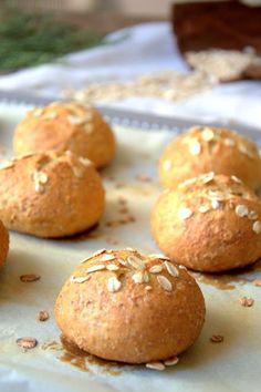 Panecillos tiernos de avena y miel | Cocinar en casa es facilisimo.com