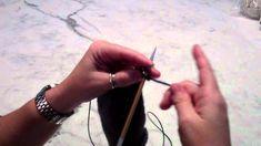 Trico: Acabamento em I-cord