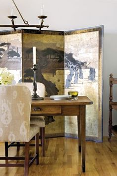 New modern chinese screen asian interior 15 Ideas Japanese Screen, Oriental Decor, Asian Interior, Decorative Screens, Asian Home Decor, Asian Design, Chinoiserie Chic, Eclectic Decor, My Living Room