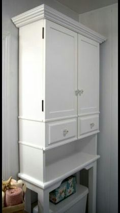 over the toilet storage the runnerduck bathroom cabinet plan is a step by step instructions on how to build an over the toilet bathroom cabinet - Bathroom Cabinets That Fit Over The Toilet