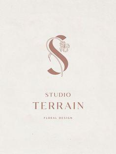 Studio Terrain Logo | Design by Hayley Brooks | @hayleybrooks.studio