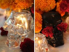 Day of the Dead Wedding Centerpieces | visit dailycandy com