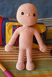 Ravelry: One Piece Doll Head to Feet pattern by Fernanda Candeo