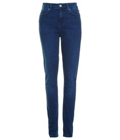 High-rise five pocket jean, full length with inside leg. Crafted from an European stretch indigo for a stream lined skinny fit. This jean has been hand finished in Europe for a washed authentic look in new season French Blue. Skinny Fit, Indigo, That Look, Legs, Denim, Chic, Pants, Shopping, Style
