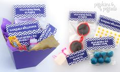 Charlie and the Chocolate Factory Birthday Party – Willy Wonka - Favor Ideas Kid Party Favors, Candy Party, Party Bags, Charlie Chocolate Factory, Wonka Chocolate Factory, Chocolates, Chocolate Party, Willy Wonka, 6th Birthday Parties