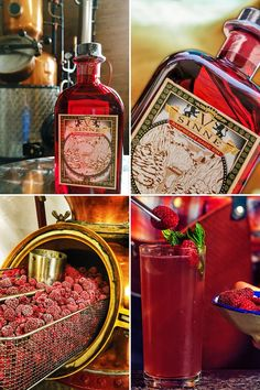 V-SINNE Raspberry Magic Gin 30 Kg Himbeeren pro Batch