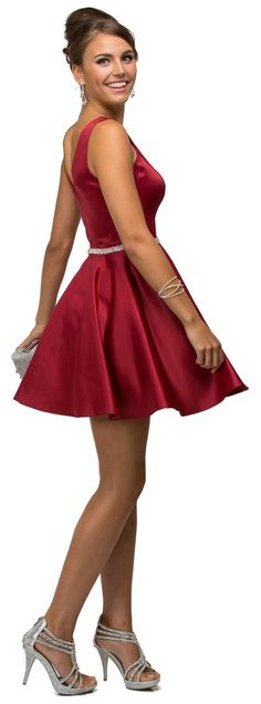 Simply Gorgeous Cocktail Dresses Formal Sleeveless Homecoming