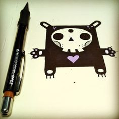 #stefanoarici #scarabiss #doodle #flash #flashtattoo #tatt #tatts #tattoo #tatuaggio #tatouage #tatuagem #tatuaje #graphic #graphisme #graphique #Black #blackwork #blackworkers #skull #sketch #sketchbook #blackbook #dibujo #dessin #draw #ink