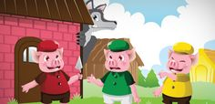 Colourful Semantics - 3 Little Pigs