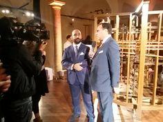 Interviews @Liz Mester Meyer del Mobile, Milan:  Filippo Ricci and Roberto Zambrini talk about the great synergy between Antico Setificio Fiorentino & Mondo Marine