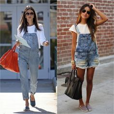 Overallsaren't for everyone, clearly – but if sporting this trend is something you're considering – you've got to tackle your dungaree anxiety head-on. Check out these tips on how to wear them without looking, or feeling [too] ridiculous. MORE SEXY, LESS OSH-KOSH Let's be honest, regula