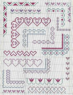 Thrilling Designing Your Own Cross Stitch Embroidery Patterns Ideas. Exhilarating Designing Your Own Cross Stitch Embroidery Patterns Ideas. Cross Stitch Boarders, Cross Stitch Heart, Simple Cross Stitch, Cross Stitch Alphabet, Cross Stitch Flowers, Cross Stitch Designs, Cross Stitching, Cross Stitch Embroidery, Embroidery Patterns