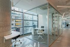 Millward Brown Offices in Athens- Open plan offise space