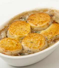 This mushroom cobbler recipe is a marvellously hearty vegetarian meal straight off the menu of Marcus Wareing's famous brasserie, The Gilbert Scott.