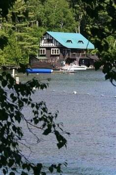 favorite place in the world.  Saranac Village in Saranac Lake, New York