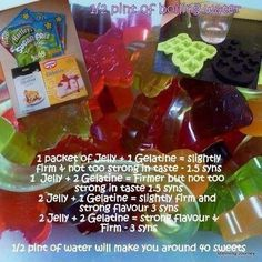 Slimming World - Low Syn Sweets