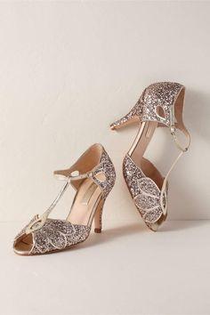 Rachel Simpson Mimosa Heels. Glitter Wedding ShoesWedding ... 601c0ddd0b91