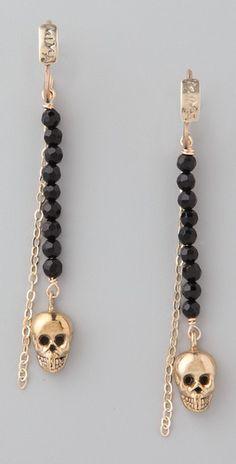 Mima    Arete Skull Earrings  Style #:MIMAA45007  €149.45 | $209.00