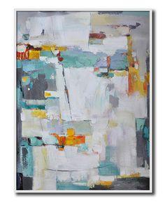 Original Painting Large Abstract Art Acrylic por CelineZiangArt