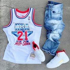 The Human Highlight Film 🎞️ Summer Swag Outfits, Dope Outfits For Guys, Swag Outfits Men, Stylish Mens Outfits, Fresh Outfits, Tomboy Outfits, Tomboy Fashion, Nike Outfits, Streetwear Fashion