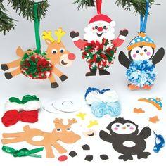 Bastelsets für Weihnachtsdekoration mit Bommeln für Kinder zum Verzieren (3 Stück) Baker Ross http://www.amazon.de/dp/B00F8HXXZ4/ref=cm_sw_r_pi_dp_pK3pwb18PG1X7