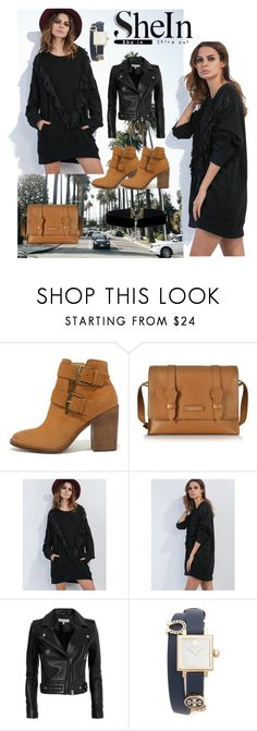 """""""#sheln#"""" by eelmaa ❤ liked on Polyvore featuring Steve Madden, The Bridge, IRO and Tory Burch"""