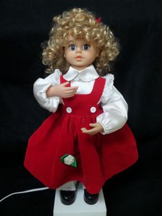 """25"""" Animated Telco Christmas Doll Motion ette w Add on Plug Feature 