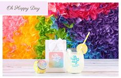 Oh Happy Day Theme Wedding Favors