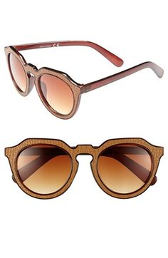 A.J.+Morgan+'Zipster'+50mm+Sunglasses+available+at+#Nordstrom