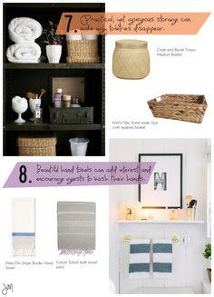Julip Made bathroom styling tips