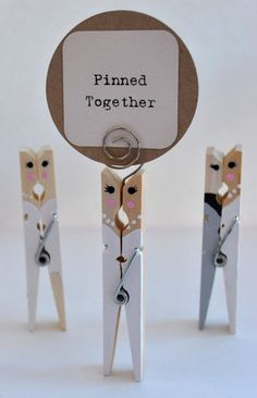 20 Custom Same Sex Wedding Favors  to add the by PinnedTogether, $40.00