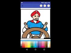 Fairy Tale Coloring Book Android App