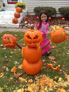 Halloween makeup inspired by madeyewlook jack-o-latern pumpkin ...