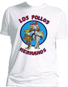 Camiseta Breaking Bad: Pollos Hermanos | Elreygeek.com