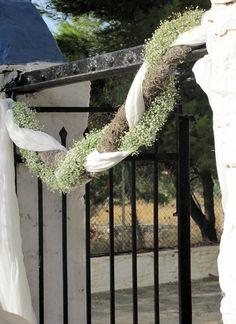 Kea island – garland with natural materials