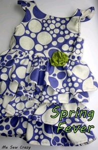 Spring Fling Dress...wait until you see the back of this dress...squeal. yep. I squealed.