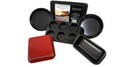 Baking Pan 6-Piece Set Non-Stick Bake-ware Collection -- Don't get left behind, see this great product offer  : Bakeware