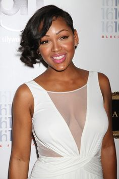 Meagan Good Short Curls