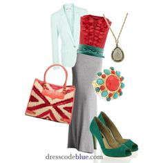 Maxi Skirt for Work 1 - Polyvore