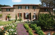 Yes, You Can Now Rent The Villa From Under The Tuscan Sun. Walkthrough of villa Siena Toscana, Design Toscano, Beautiful Homes, Beautiful Places, Amazing Places, Sun House, Under The Tuscan Sun, Tuscan House, Tuscan Garden