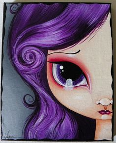 Violet Eyes by Megan K. Suarez, via Flickr