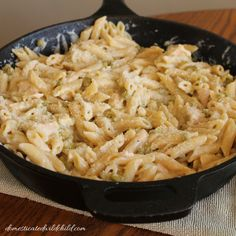 Forget the traditional casserole, get your tuna fix on with this Skillet Tuna Penne!