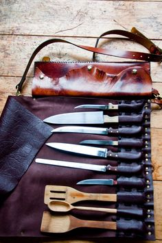 Knife Rolls I need for camping
