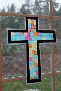 Resurrection craft for Kindergarten Sabbath School