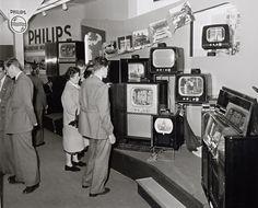Tecnología punta...de la época. 1950.
