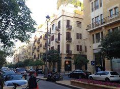centro #Beruit. Revisen datos sobre el #Libano en nuestra ficha para introducir nuevos destinos
